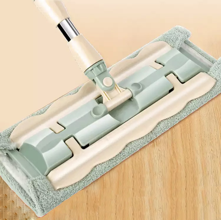 Flat Mop Floor Telescopic Mop 360 Degree Handle Mop For Home Kitchen Tiles Cleaning Spin Mop Rotating Superfine Fiber Swabs