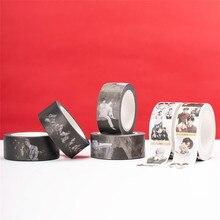 Stationery Decorative-Tape Washi Kpop of Bangtan 1pcs Soul:7-T Album-Map Boys