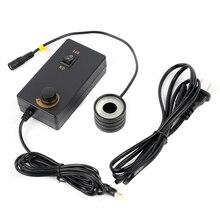 6500K диаметр 28 мм резьба 28 мм 32 светодиодный кольцевой светильник установка осветитель лампа HDMI USB промышленный видео микроскоп камера горелка