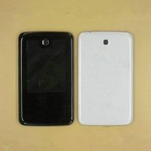 אחורי כיסוי עבור Samsung Galaxy Tab 3 7.0 T210 SM T210 שיכון סוללה דלת אחורית להחליף חלקי תיקון + לוגו