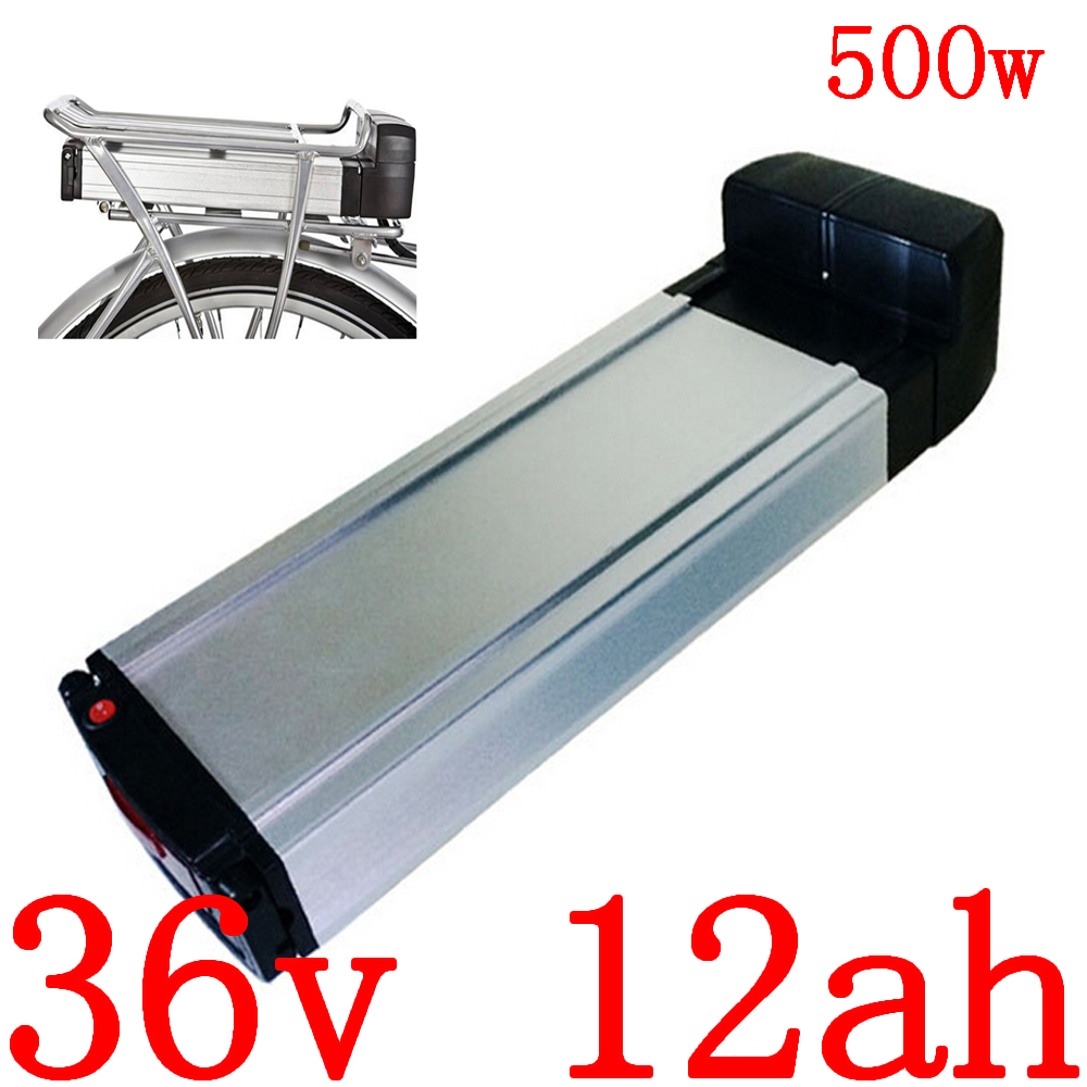 36V 500W battery Scooter pack 36V 12AH Electric Bike Battery 36V 8AH 9AH 10AH 11AH 12AH 12.5AH 13AH lithium battery+2A charger image