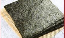 Algues vertes Extra larges, Sushi Nori, Algues vertes, feuilles de haute qualité, vente en gros, meilleure vente