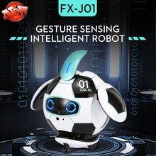 Головоломка распознавание жестов Интеллектуальный робот сенсорная