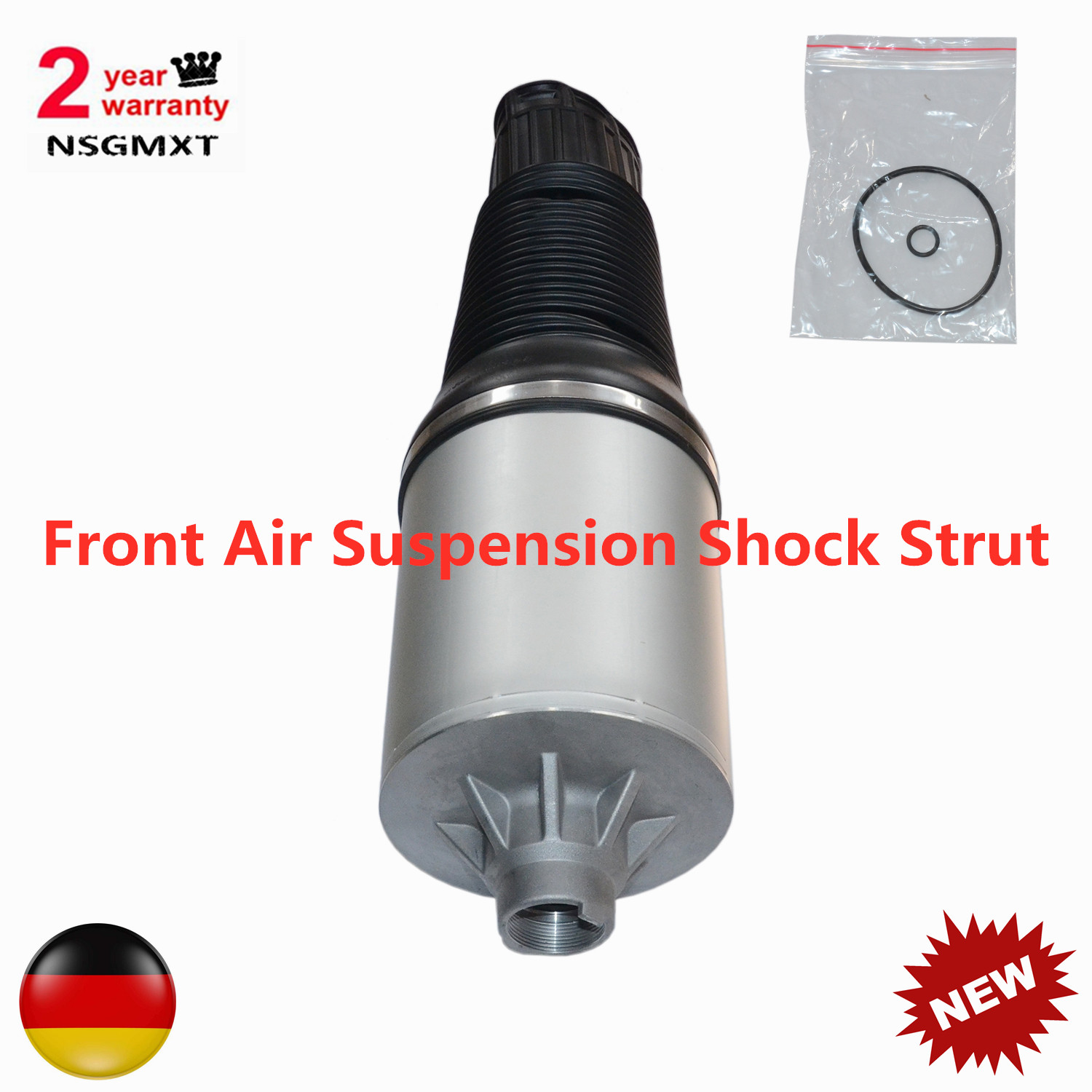 AP01 New Front Air Suspension <font><b>Shock</b></font> Strut For <font><b>Audi</b></font> <font><b>A8</b></font>/S8 D3 4E 2002-2010 4E0616039 4E0616039AF 4E0616039AH 4E0616039AB image