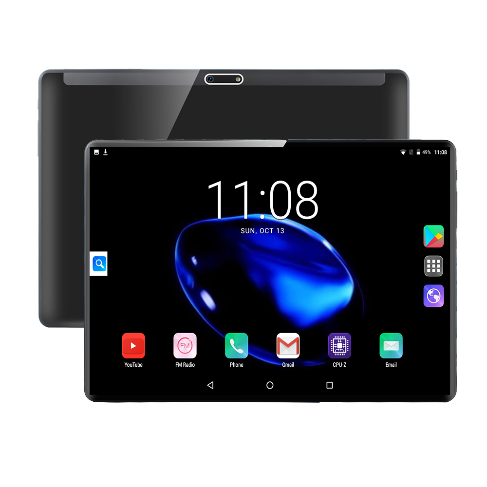 2020 New Design 10 Inch Tablets Android 9.0 OS 8GB 128GB ROM Dual Camera 8MP Tablet PC Wifi GPS 4G Lte Mobile Phone Dual SIM