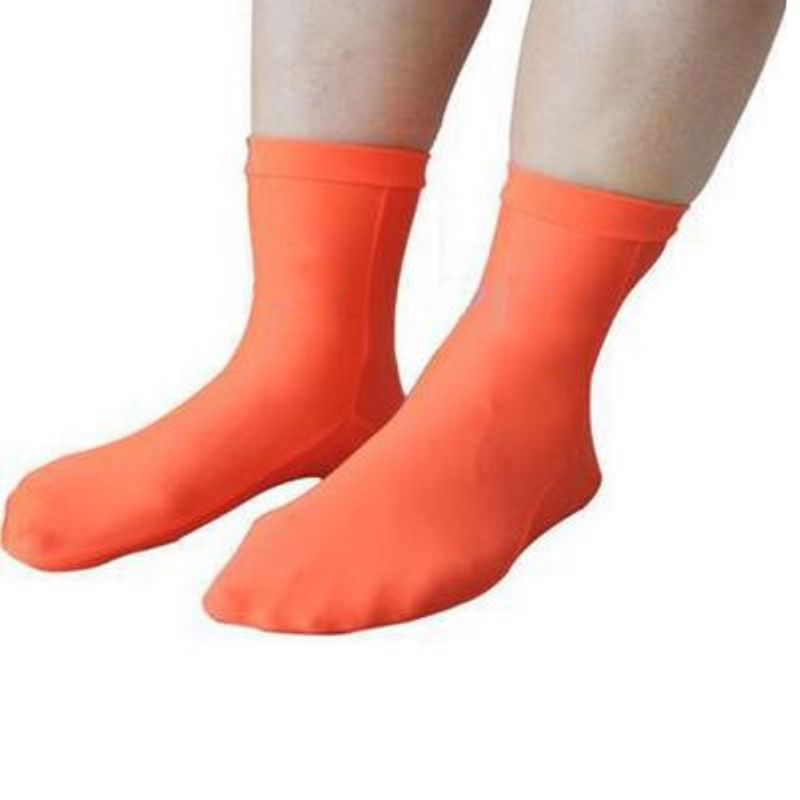 1 Pair Diving Socks Adult Elastic Thermal Shoes Footwear Outdoor Beach Sports Autumn Winter Swimming Snorkeling Socks