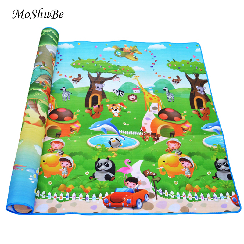 0 5cm Thickness Children s Rug Baby Playing Mats Soft EVA Foam Double Side Patterns Child 0.5cm Thickness Children's Rug Baby Playing Mats Soft EVA Foam Double Side Patterns Child Carpets For Kids Crawling Gym Mats