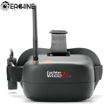 Eachine VR-007 Pro VR007 5.8G 40CH FPV Goggles 4.3 Inch With 3.7V 1600mAh Battery for RC Drone(China)