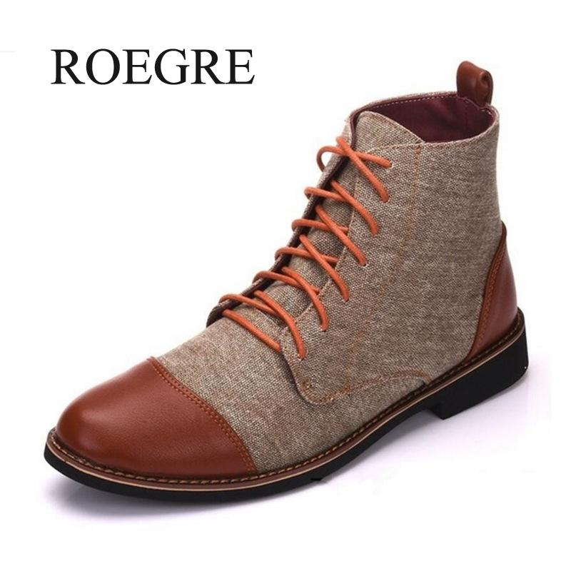 Winter Men Snow Boots Warm Plush Plus Size  Men Boots Pointed Toe Winter Casual Leather Shoes Men Chelsea Boots Plus Size 39-48