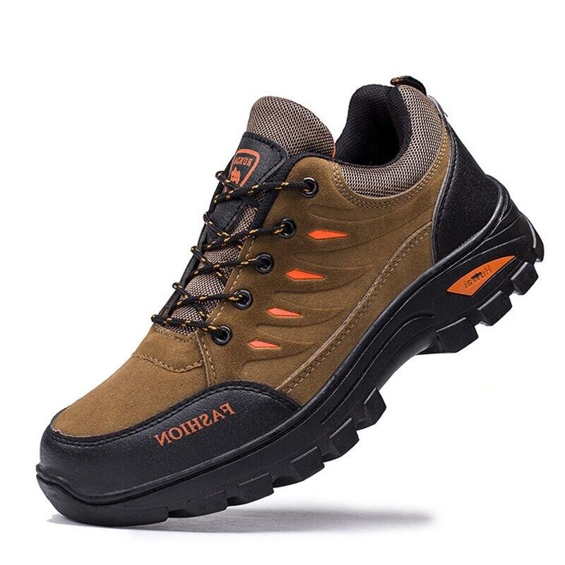 2020 Новый Для мужчин повседневная обувь Пеший Туризм обувь уличная спортивная обувь износостойкая Для мужчин обувь, нескользящая подошва, п...