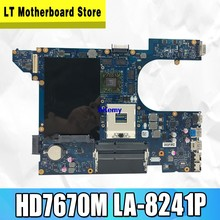 QCL00 LA-8241P motherboard CN-06D5DG 06D5DG 15R 6D5DG para For DELL Inspiron 5520 7520 laptop motherboard For DELL 5520 HD7670M
