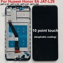 6.09 orijinal yeni LCD ekran için Huawei onur 8A onur 8A Pro JAT L29 LCD ekran dokunmatik ekran Digitizer meclisi + çerçeve