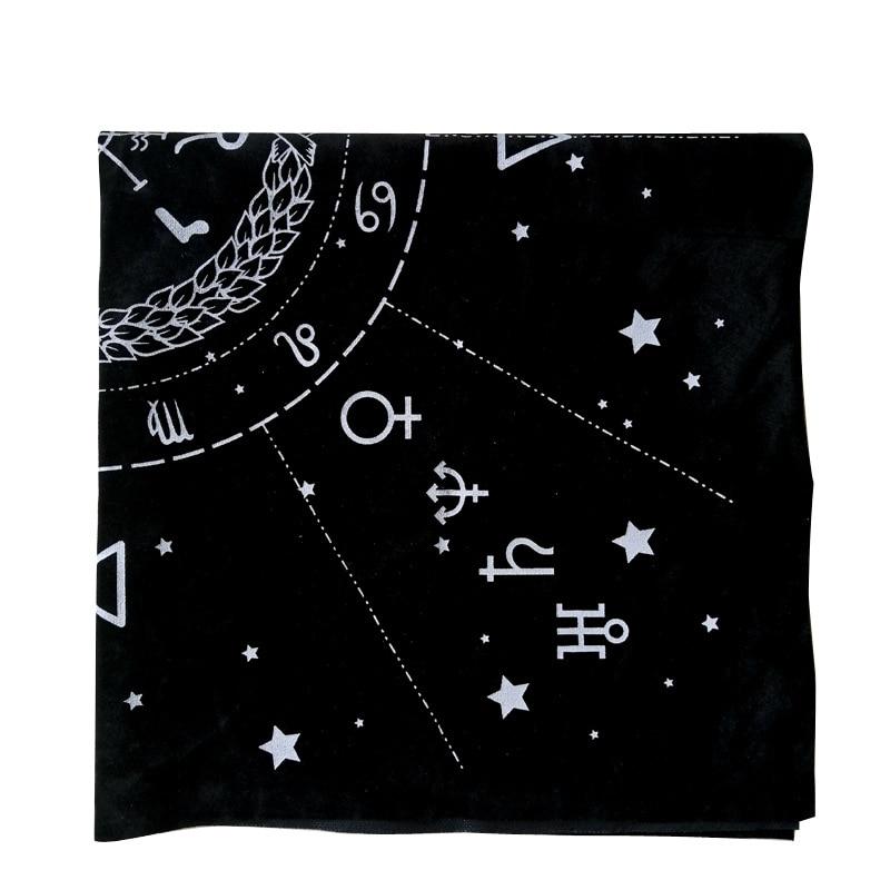 New Tarot Special Tablecloth  Astrology Tarot Divination Tarot Cloth 49*49 Cm
