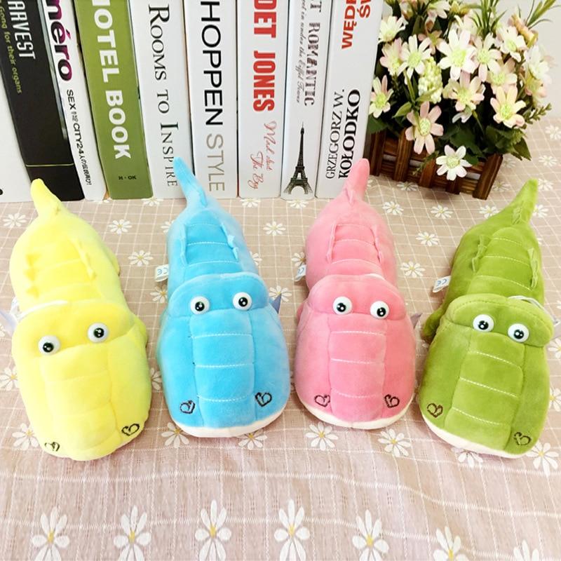 Cute cartoon crocodile stuffed cotton soft high quality doll toy cute children birthday gift