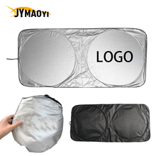 цена на Auto car Windshield Sunshade Foldable car sunshade visor Cover Auto Parts with car logo for BMW X1 X3 X4 X5 X6 I8 3 4 5 7 serie