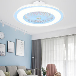 60cm smart ceiling fan with lights remote control fans ventilator lamp bedroom decor with lights Macaron dropship