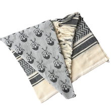 Scarves Airsoft-Scarf Shemagh Tactical Skull Cycling Desert-Arab Hiking Hunting Outdoor
