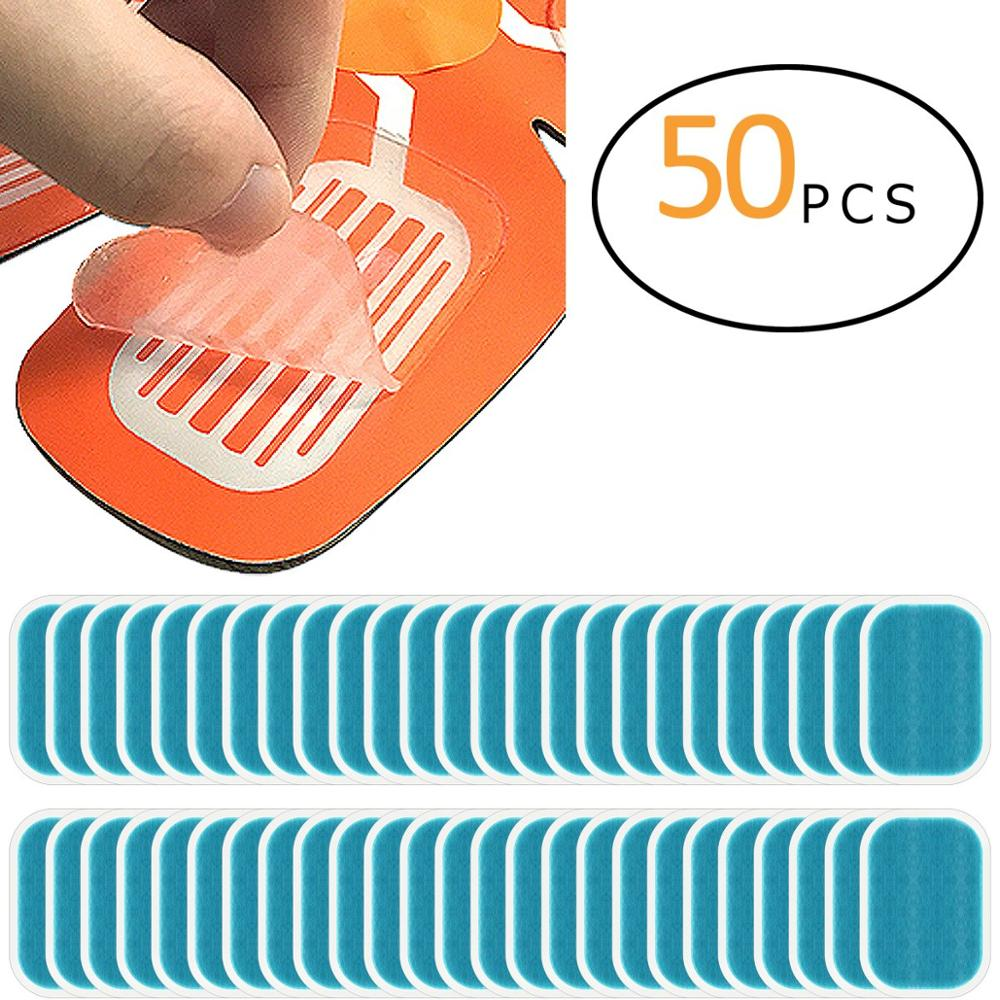 50Pcs Hydrogel Sticker Patch For ABS EMS Abdominal Stimulator Hip Trainer Toner Trimmer Belt Replacement Pads Vibration Fitness