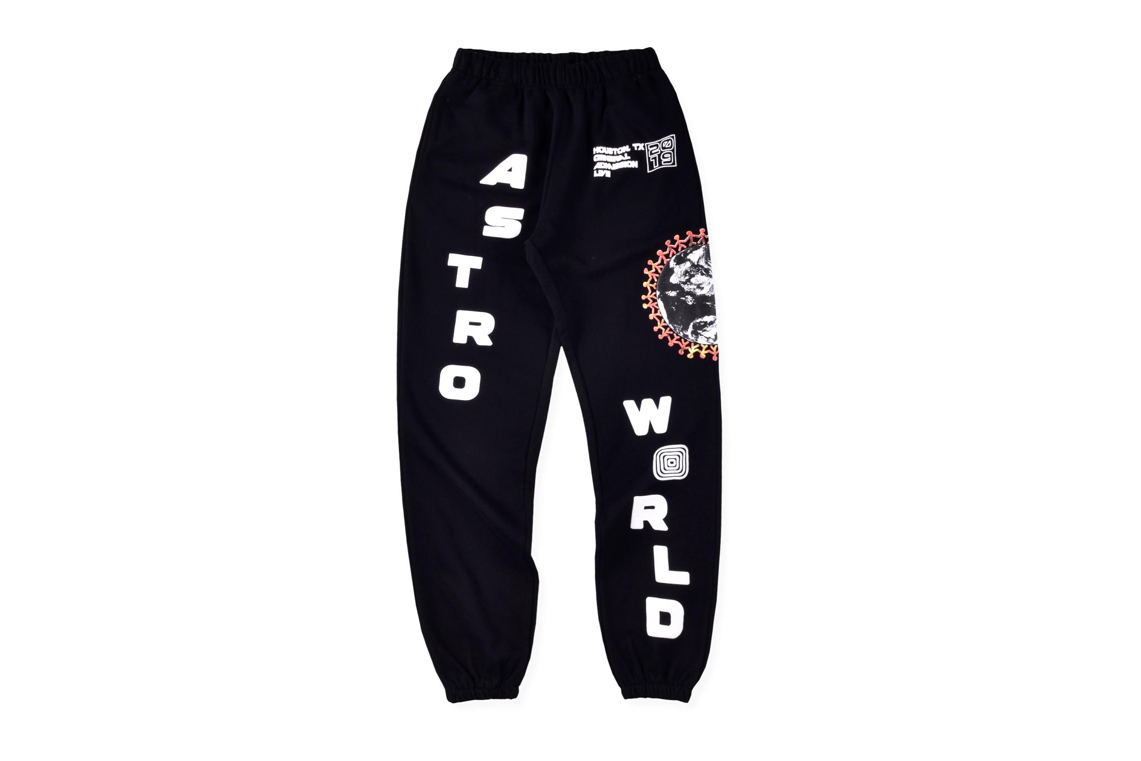Travis Scott Astroworld Pants Men Cactus Jack Festival Globe Streetwear 1:1 High Quality Letters Joggers Travis Scott Sweatpants