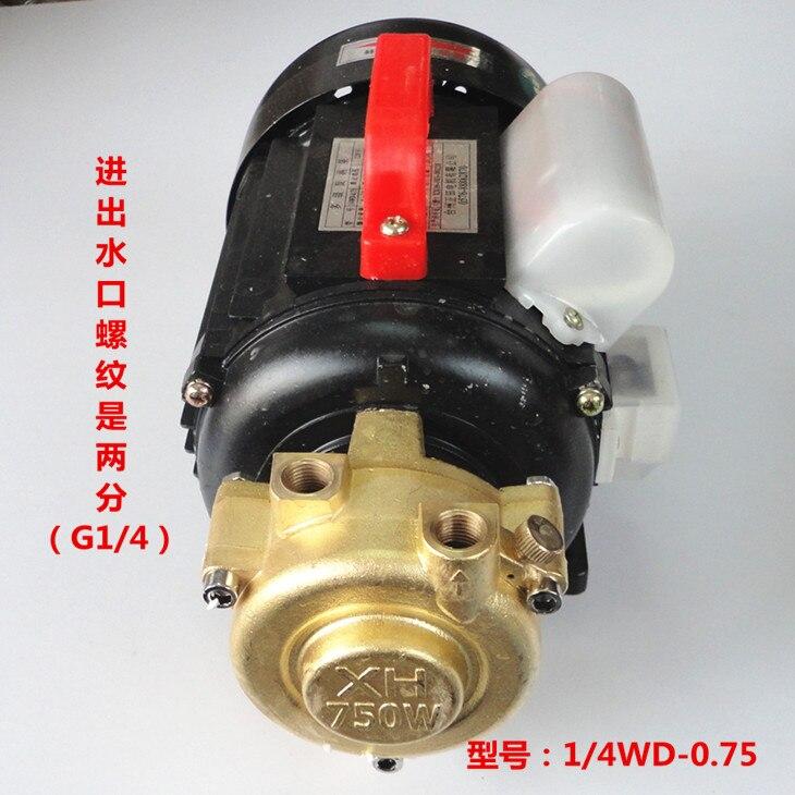 1 / 4wd-0.75 Multistage Vortex Pump Electric Steam Generator Boiler Accessories High Pressure Water Pump 220V