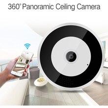 360° Panoramic Ip Camera Wifi 1080P Home Camara Wireless Camera Cloud Storage VR Fisheye Two-way Audio Night Vision Ip Cam