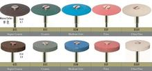 2pcs/lot Dental Lab Diamond Polisher Burs Drill Cutting Disc Wheels Abrasive Tools for Polishing Zirconia all Ceramics
