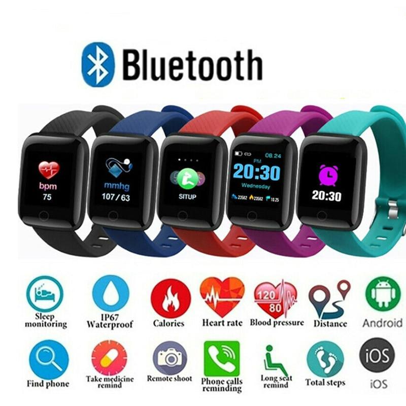 Smart Watch For Men Women Child Kids Clock Smart Wearable Device Sport Fitness Activity Tracker Heart Rate Wristwatch Silicone