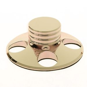 Image 1 - 오디오 LP 비닐 턴테이블 금속 디스크 안정제 레코드 플레이어 무게 클램프 HiFi New