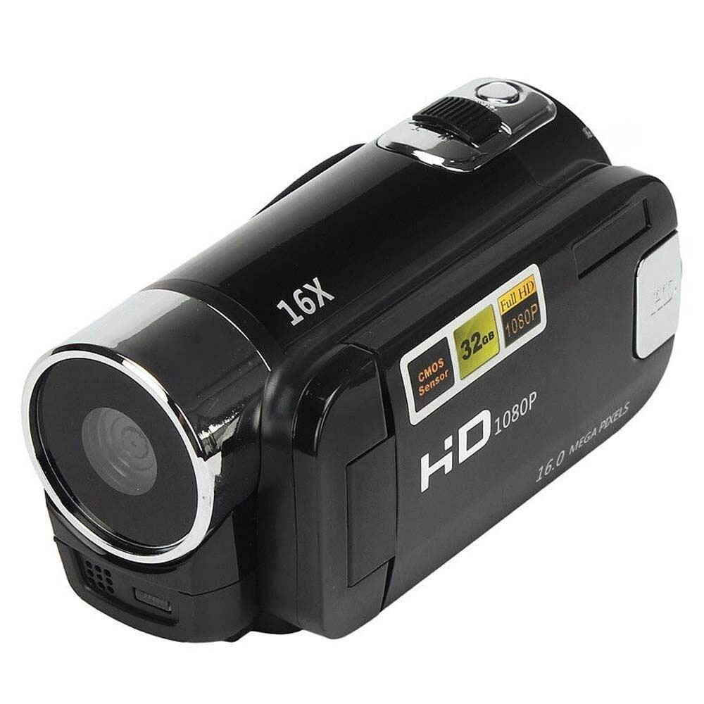 1080P HD Digital Camera Portable Videocamcoder Videocam DV for Home Use Travel <font><b>Video</b></font> Camcoder 270 Degrees Rotatable Screen image