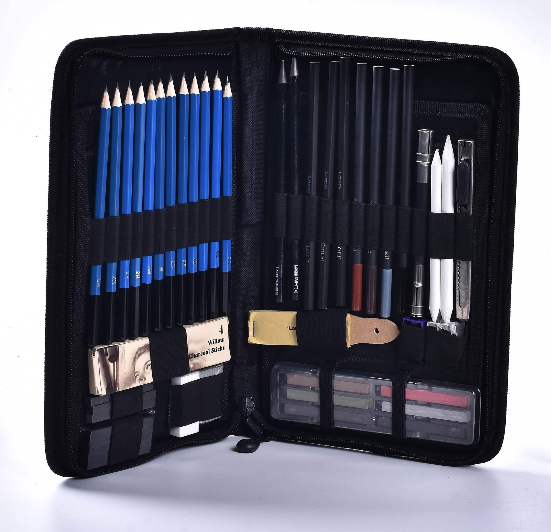 48 piece sketch pencil set / painting tools / art painting pencil set / art supplies / art|Art Sets| |  - title=