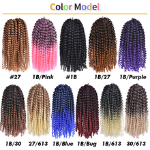 Short Afro Kinky Curly Twist Braid Hair Marlybob Crochet Braids Synthetic Hair Extensions For Black Women 8-12inch Annivia cheap Low Temperature Fiber CN(Origin) Marley Braids 20strands pack Ombre 8inch 30g 12inch 60g Crochet hair extensions