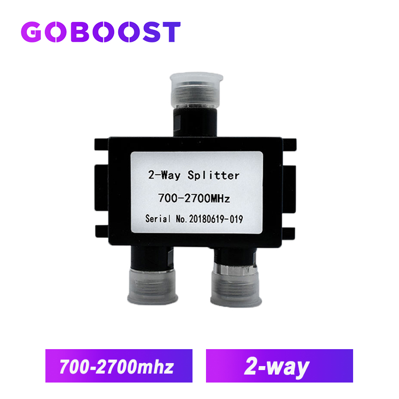 700MHz~2700MHz N-Female 2-way Power Splitter Signal Repeater 2 Ways Splitter For Connect 3G 4G Internet Mobile Signal Booster /