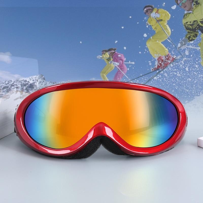 Anti fog Protection Skiing Glasses Men Women Snowboard Sports Goggles UV400 Skii Skating Sunglasses Ski Eyewear Glasses Mask|Skiing Eyewear| |  - title=