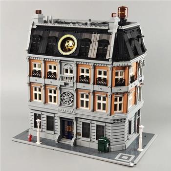IN STOCK 6564pcs Infinity War Super Sanctum Sanctorum Showdown Doctor Strange Building Blocks Bricks Toy  Lepining 76108