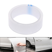 Universal Car Anti Collision Side Door Edge Guard Door Sill Scuff Plate Protection Sticker Strip Styling Mouldings Accessories(China)