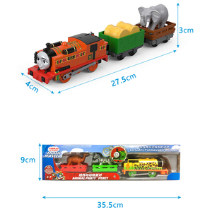 Image 5 - Original Electric Thomas and Friends 1:43 Diecast Track Master Trains Motor Metal Model Car Battery Material Kids Toy Brinquedo