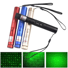 Hunting 532nm 5mw Green Lasers Sight Laser pointer High Powerful Adjustable Focus Lazer 303 pen Head Burning Match focus adjustable fire match high power 532nm green beam laser pointer flashlight 1w 1000mw burning match pop balloon changer box