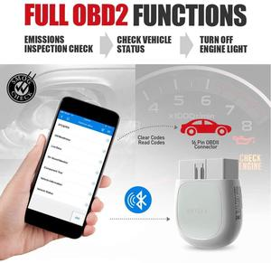 Image 4 - Autel AP200 Bluetooth OBD2 Scanner Car Code Reader with All System Diagnoses and 19 Service Functions Automotive Scan Tool