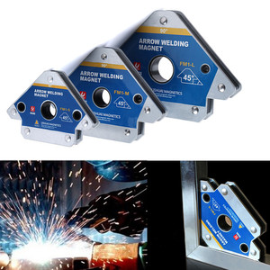 Multi-angle Magnet Welding Holder Arrow Magnetic Clamp 45/90/135 Degree for Welding Magnet 55LBS 110LBS 165LBS Iron Tools(China)