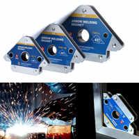 Multi-winkel Magnet Schweißen Halter Pfeil Magnetische Clamp 45/90/135 Grad für Schweißen Magnet 55LBS 110LBS 165LBS Eisen Werkzeuge
