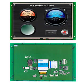 10.1 Inch HMI TFT LCD Screen STONE Panel with RS232/RS485/TTL Interface - DISCOUNT ITEM  20 OFF Electronic Components & Supplies