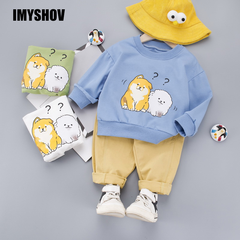 Toddler Boy Clothes Baby Boys Clothing Set Korean Boutique Kids Outfits Infant Outfit Suit For 0-4 Years Little Children Costume title=