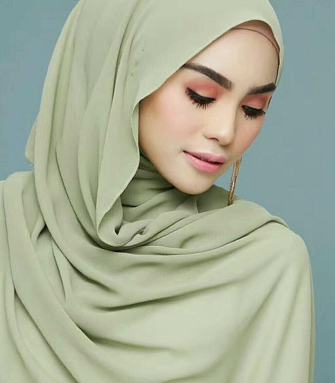 70*180cm Muslim Bubble Chiffon Hijab Scarf Islamic Plain Shawls Wraps Arab Soft Headscarf Foulard Femme Musulman Head Scarves