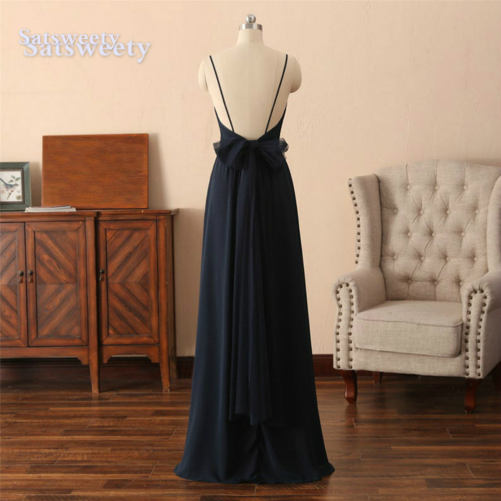 vestido madrinha Bridesmaid Dresses Long Chiffon Cheap Floor Length wedding party dress robe demoiselle d'honneur