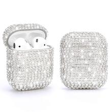 Diamond Protection Case for AirPods Pro 3 Cover Shiny Rhinestone for Apple Airpods 1/2 Case Accessories Earphone Glitter Cover