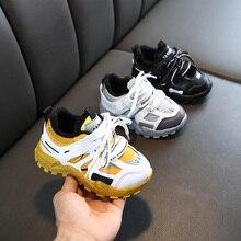 Zapatos de felpa para niños y niñas, zapatillas de deporte de abrigo antideslizantes, para correr, para invierno, 2019