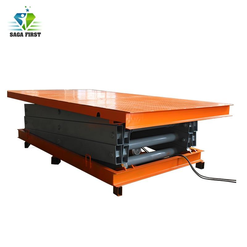 2018 SAGA FIRST 1.5ton Scissor Lift Table With U Shape Design