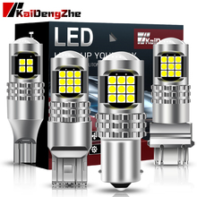 1PCS P21W 1156 Ba15s 7440 T20 T15 W16W 3157 T25 LED Car lights Reverse Lamp For Car 3030 Chips 24SMD