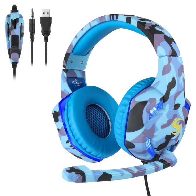 gaming fones de ouvido baixo estéreo pc