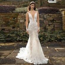 Элегантное кружевное платье для свадьбы; Платья 2020 свадебное